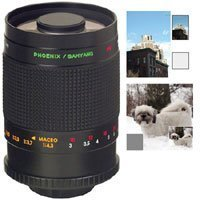 Samyang 500Mm F/8 Ultra Telephoto Manual Focus Mirror Lens With T-Mount For The Maxxum & Sony Alpha Mount.
