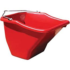 Little Giant Plastic Better Bucket, 10-Quart, Red