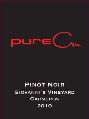 2010 Purecru Napa Valley Pinot Noir Carneros 750 Ml