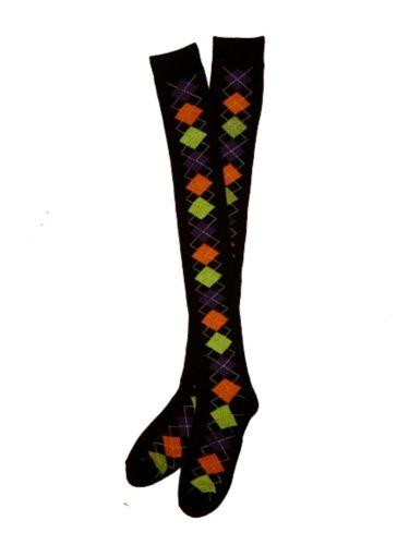 shopko-womens-argyle-over-the-knee-socks