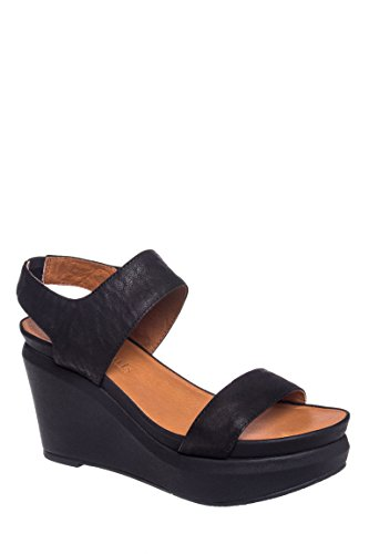 Juniper Berry Wedge Sandal