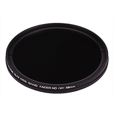 Fotga 58Mm Slim Fader Variable Nd Filter Adjustable Nd2 To Nd400 Neutral Density