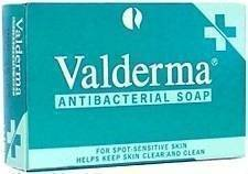 VALDERMA ANTIBACTERIAL SOAP BAR - 100 G by Valderma