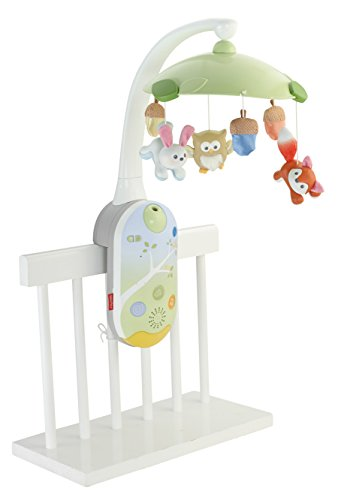 Fisher-Price Smart Connect Deluxe Projection Mobile (Fisher Price Rainforest Mobile compare prices)