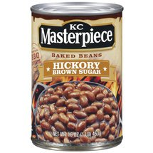 Kc Masterpiece Baked Beans, Hickory Brown Sugar, 16 Oz. (Pack Of 6)
