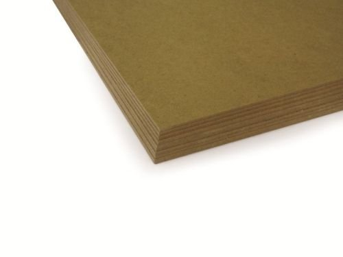 MDF 2mm Backing Board Panel / Painting Surface | 14 x 11