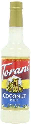 Torani Syrup, Coconut, 25.4-Ounce Bottles (Pack Of 3)