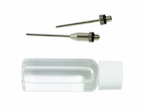 Mitre Glycerine & Needle Pump - Silver - One Size