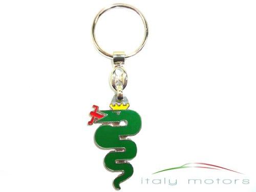 alfa-romeo-portachiavi-serpente-verde