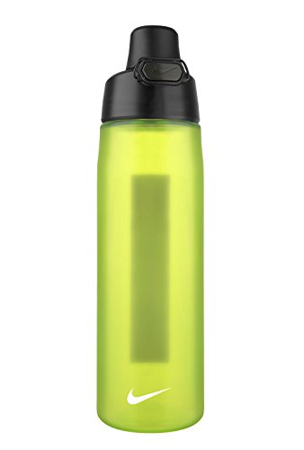 Nike Core Hydro Flow JDI Water Bottle (24oz, VOLT/BLACK/WHITE) (Nike Flow Water Bottle compare prices)