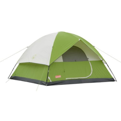 Coleman Sundome 6-Person Tent (Green, 10-Feet x 10-Feet)