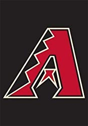 "Arizona Diamondbacks Mini Garden Window Flag 15""x10.5"" MLB Baseball Fan Shop Sports Team Merchandise"