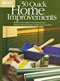 img - for Ortho's 50 Quick Home Improvements (Ortho's All About Home Improvement) book / textbook / text book
