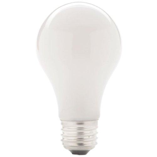 Globe Electric 00462 Energy Saver 43-Watt A19 Halogen Medium Base Light Bulb, Soft White, 4-Pack