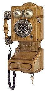 Crosley CR92 Country Wall Phone II - Oak