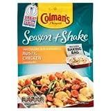 Colman's Season & Shake Rustic Chicken 33G