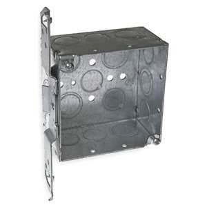 Electrical Box, Square With TS Bracket