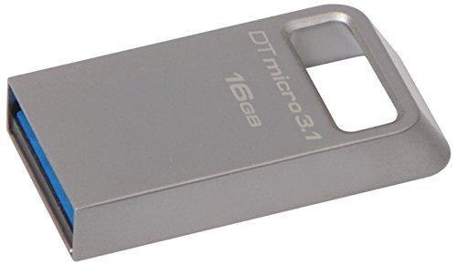 Kingston DataTraveler Micro 3.1 DTMC3/16GB Speicherstick USB 3.1 silber