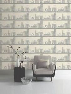 Opera Hamlet Wallpaper - Cream from New A-Brend