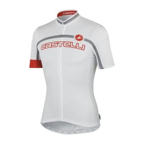 Castelli 2013 Men's Velocissimo Team Full Zip Short Sleeve Cycling Jersey - A13017