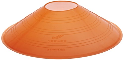 "360 Athletics Saucer Cone Marker, 7"", Orange - 1"