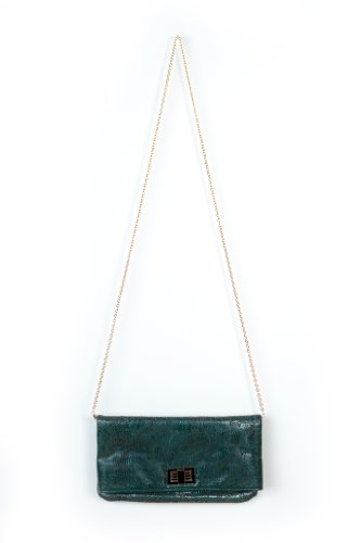 Simple Girl Clutch in Green