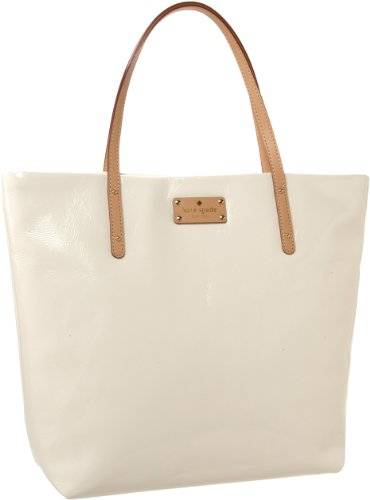 Kate Spade Flicker Bon Shopper Tote,Bone,One Size