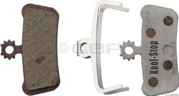 Kool-Stop-Avid-Elixir-X0-Trail-Disc-Brake-Pads-(Organic-Compound,-Alloy-Backing)