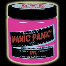 Manic Panic Cotton Candy Pink Hair Dye #4