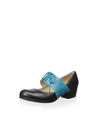 Chocolat Blu Women's Kira Pump  [Black Leather]