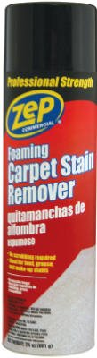Zep Inc Zuisr24 Aerosol Foaming Carpet Stain Remover - 24 Oz