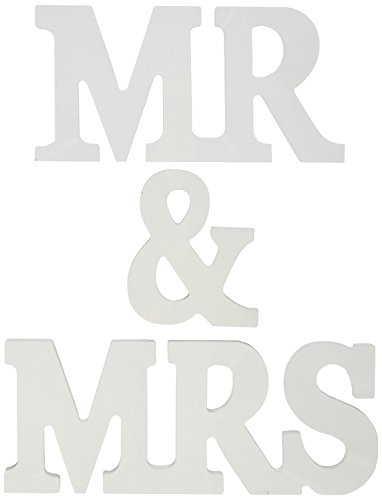 Generic Mr and Mrs Wooden Letters Wedding Decoration/Present