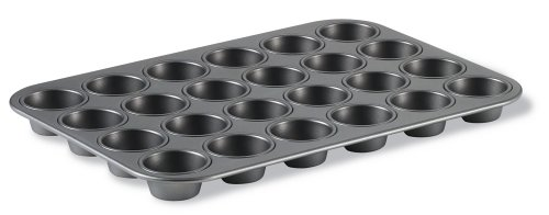 Calphalon Classic Bakeware 24-Cup Nonstick Mini Muffin Pan (Two Tone Cupcake Pan compare prices)