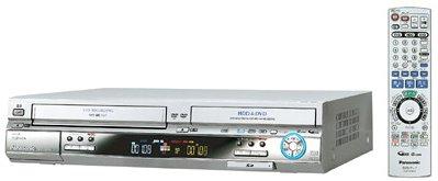 Panasonic 200GB DVDレコーダー VHSビデオ一体型 DIGA DMR-EH70V-S
