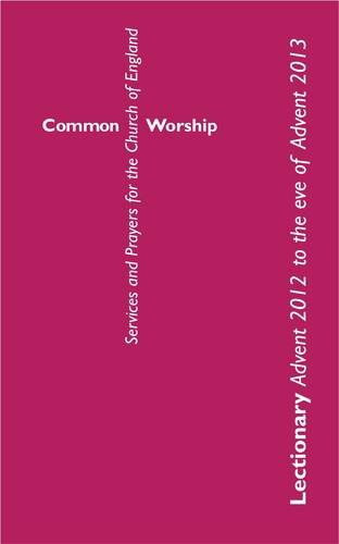 Common Worship Lectionary (Common Worship: Services and Prayers for the Church of England)
