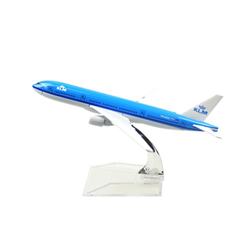 24-Hours KLM Royal Dutch Airlines Boeing 777 Alloy Metal Model Plane (Klm Model Plane compare prices)