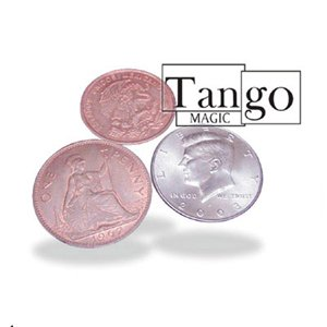 Two Copper One Silver From Tango Magic and Royal Magic - Coin Magic Trick