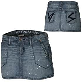 Volcom Abbreviated Jean Skirt