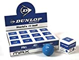Dunlop Max Squash Balls (single ball boxes) Dozen Balls