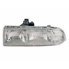Chevy/GMC S-10 Pickup/S10 Blazer Headlight Headlamp Driver Side New (S10 Headlight Assembly compare prices)