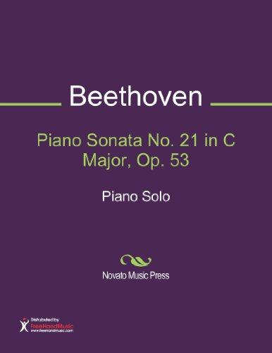 Piano Sonata No. 21 in C Major, Op. 53 Sheet Music (Piano Solo)