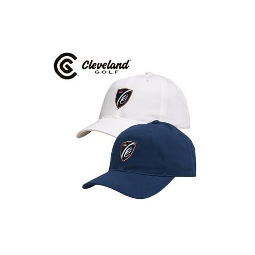 Cleveland クリーブランド Classic Shield キャップ USA仕様 フリーサイズ,ネイビー