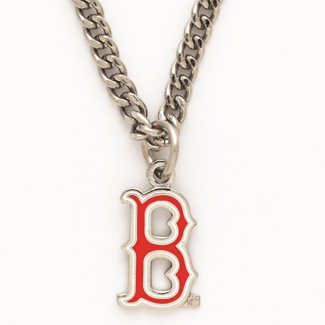 NECKLACE. BOSTON RED SOX B NECKLACE at Amazon.com