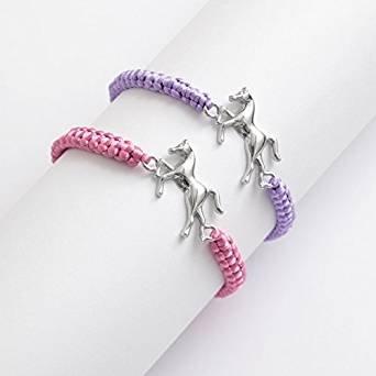 adjustable-cord-bracelet-with-metal-horse-centrepiece-2-colours-one-chosen-at-random