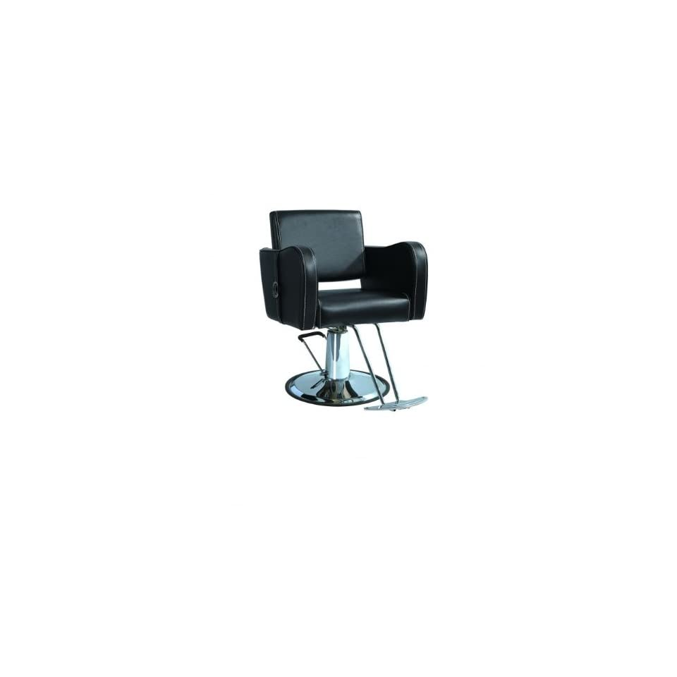 New Black Modern Hydraulic Barber Chair Styling Salon Beauty Spa Supplier 8850