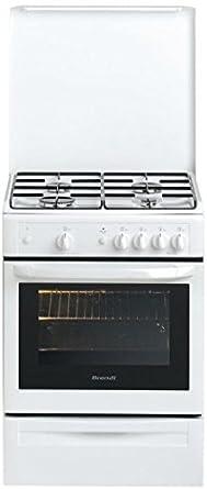 Brandt KGE1000W Cuisinière Gaz 60 x 60 cm