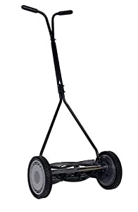 American Lawn Mower 1414-16 16-Inch Standard Push Full Feature Reel Lawn Mower With T-Style Handle (Discontinued by Manufacturer)