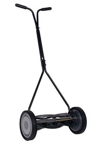 American Lawn Mower 1414-16 16-Inch Standard Push Full Feature Reel Lawn Mower With T-Style Handle