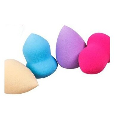 4Pc Pro Beauty Flawless Makeup Blender Foundation Puff Multi Shape Sponges(Color In Radom) front-177707