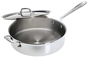 All-Clad Stainless 4-Quart Saute Pan by All-Clad